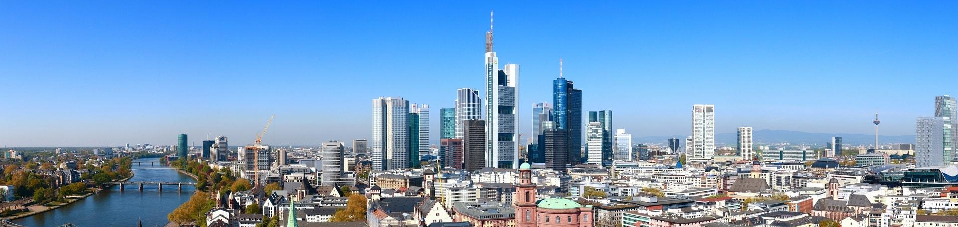 Frankfurt am Main, Blick vom Domturm